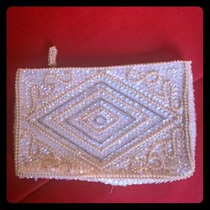 SALE!! Vintage Beaded Clutch from Japan